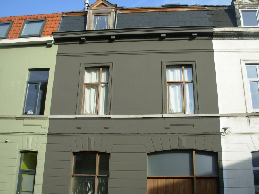 Gevel baele1 na tintelijn blogt - Oude huis gevel ...