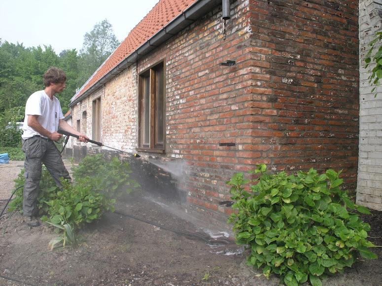 Je oude gevel of tuinmuur omtoveren met kalei tintelijn blogt - Oude huis gevel ...