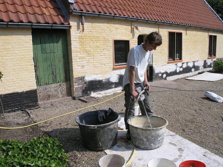 Hoe Eiken Keuken Schilderen : Je oude gevel of tuinmuur omtoveren met kalei? Tintelijn blogt