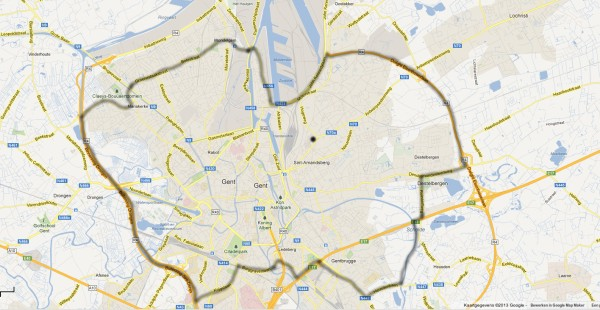 Gratis levering Cargo Vélo zones